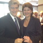 Karyn with MS Governor Phil Bryant